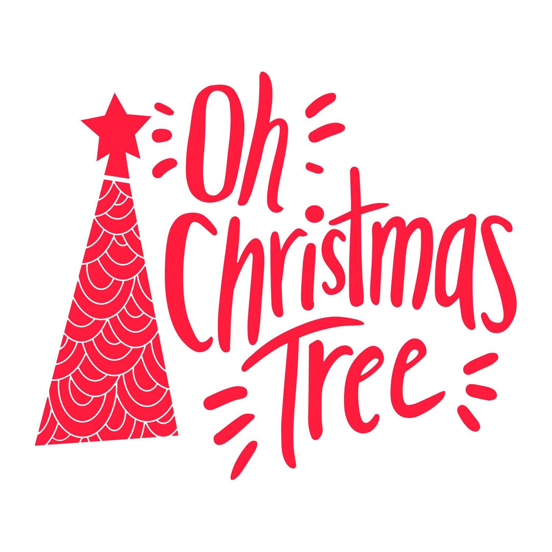 Oh Christmas Tree SVG | Etsy