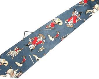 Fulamj Japanese Cartoon Tie  Slate Gray Short no shipping 401