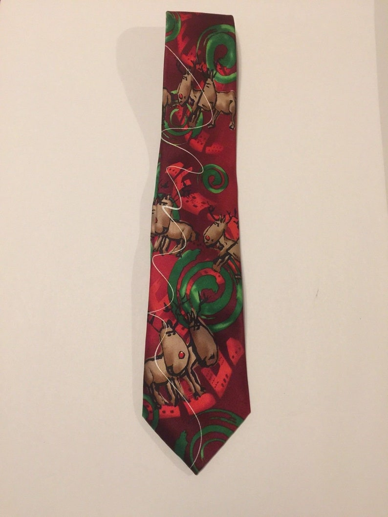 Christmas Tie.Jerry Garcia Christmas Tie Collection Sixty Dracula Claus Rudolph The Reindeer Free Shipping