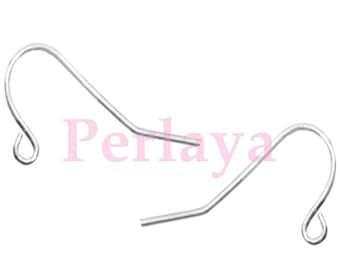 Set of 500 REF812 Silver Earring hooks