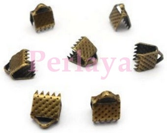 REF2632 - set of 300 claws bronze 6mm Ribbon