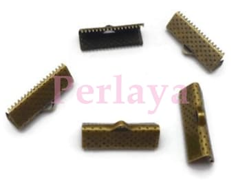REF2657 - set of 200 claws bronze 20mm Ribbon