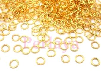 metal 5mm REF2856X2 2500 golden rings
