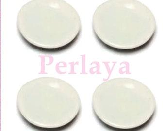 10 REF1041 porcelain plates