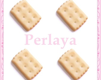 Set of 3 pces cookie resin 1.9 cm REF2060X3