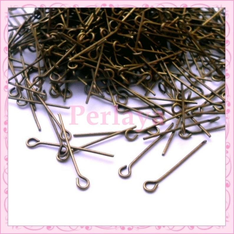 600 bronze rods with round head 24mm metal REF2861