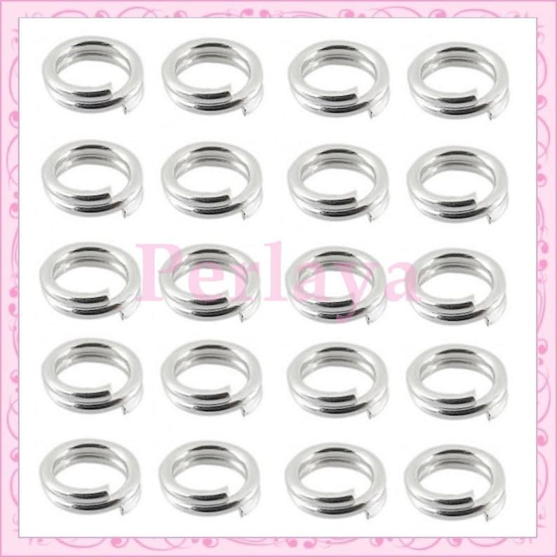 500 silver double buckian rings REF019 image 0
