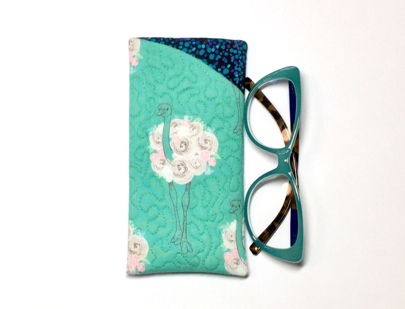 MOTHERS DAY GIFT Gifts for Her GlassesSpectacles Case Pouch Quilted Fabric Soft Case Gifts under 30 Sunglasses Case