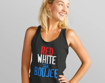 Red White and Boujee (Women's)