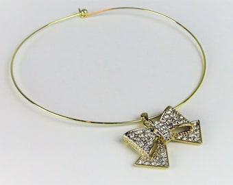Bowtie Choker Necklace
