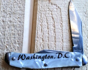 Vintage Washington D. C. Pocket Knife Made By The Ideal USA