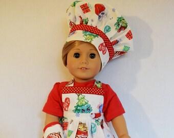Children Apron//Chef/'s Hat//Oven Glove Ladelle Unicorn Kids Chef Set