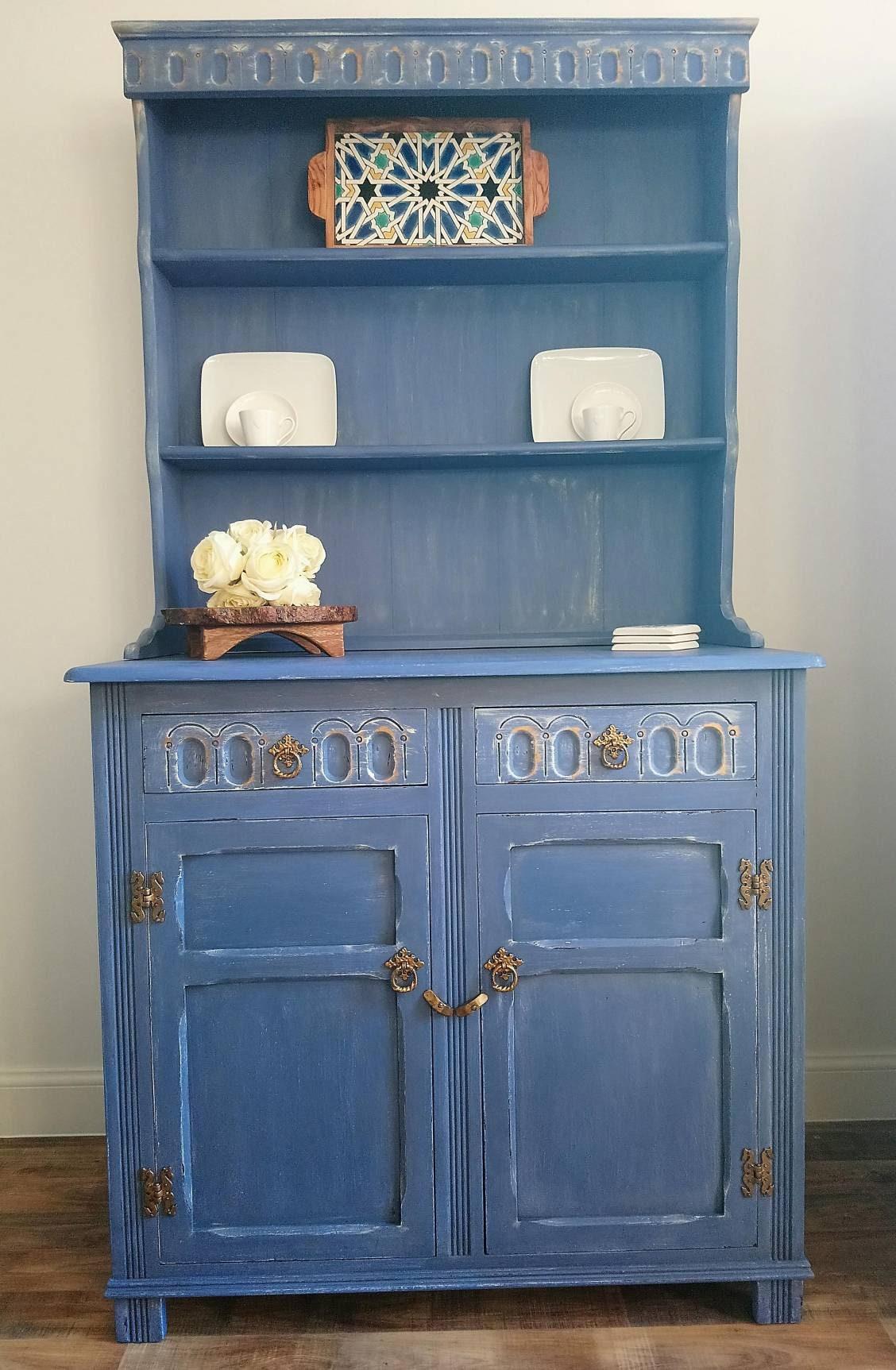 SOLD Welsh dresser painted dresser sideboard dresser | Etsy