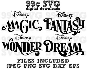 453fa007b3b2b 4 Disney Cruise Ship Names SVG DXF Png Vector Cut File Cricut Design  Silhouette Cameo Vinyl Decal Party Stencil Template Heat Transfer Iron