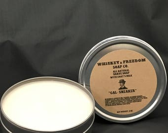 Gal-Sneaker All Natural Shave Soap 4oz