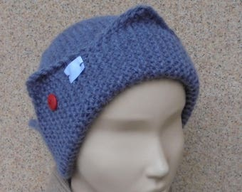 Jughead beanie Jughead jones beanie Jughead jones hat Riverdale clothing Whoopee hat Crown hat Warm knit hat Hand knit beanie Winter beanie