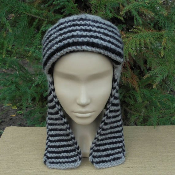 Ohrenklappen Mom Geschenk Hut Earflap Hüte Oversize Mütze Ohr