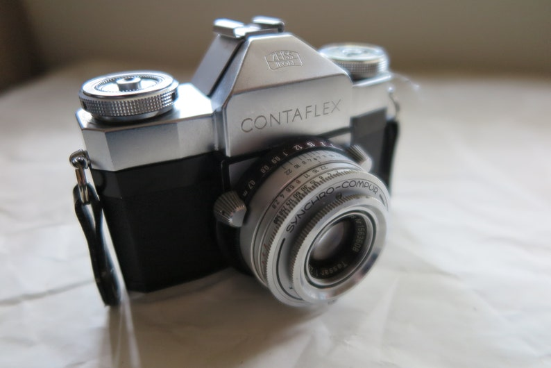 Zeiss Ikon Contaflex III Single Lens Reflex 35mm Film Camera | Vintage Film  Cameras | Photographer Gift | Photography