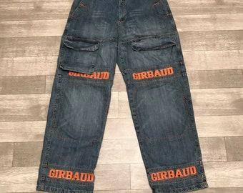 29ee91216a Marithe Francois Girbaud Jeans Mens 36M vintage shuttle tape orange Jeans,  Vintage Clothing , Hip Hop , Rap , Vintage , Streetwear