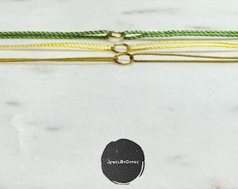 Bracelets minimalist   Gift for her   get 3 for 2