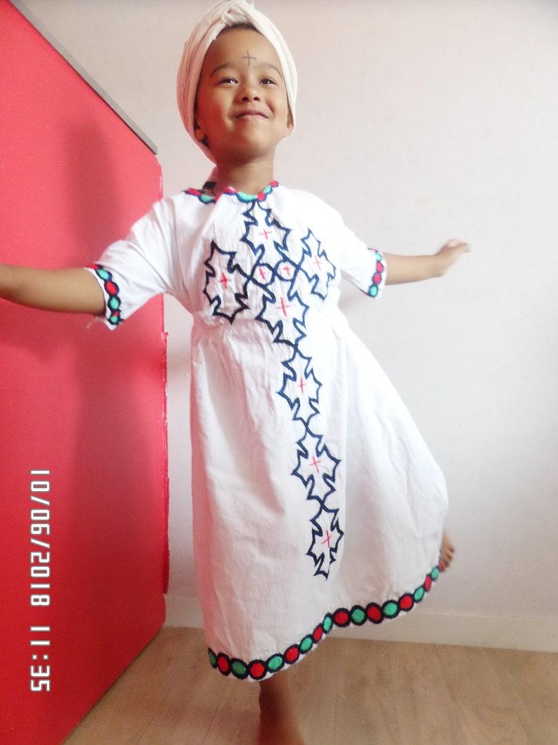 traditional Ethiopian girl dress