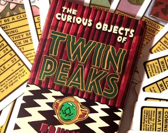 TWIN PEAKS : Curious Objects 'Trumps' Card Game