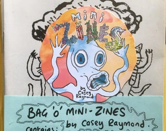 8 Pack Mini-Zines by Casey Raymond