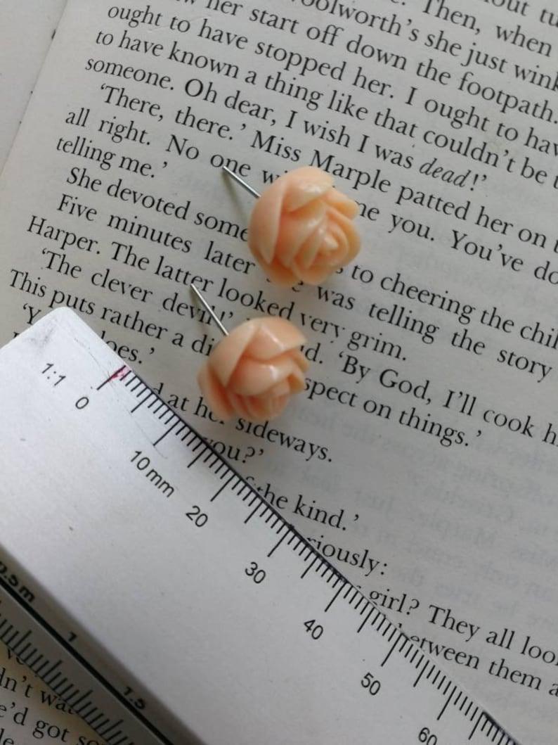 Gorgeous Rosebud stud earrings