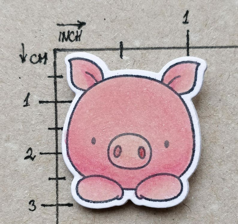 Cute Piggy webcam cover for your privacy and good mood.