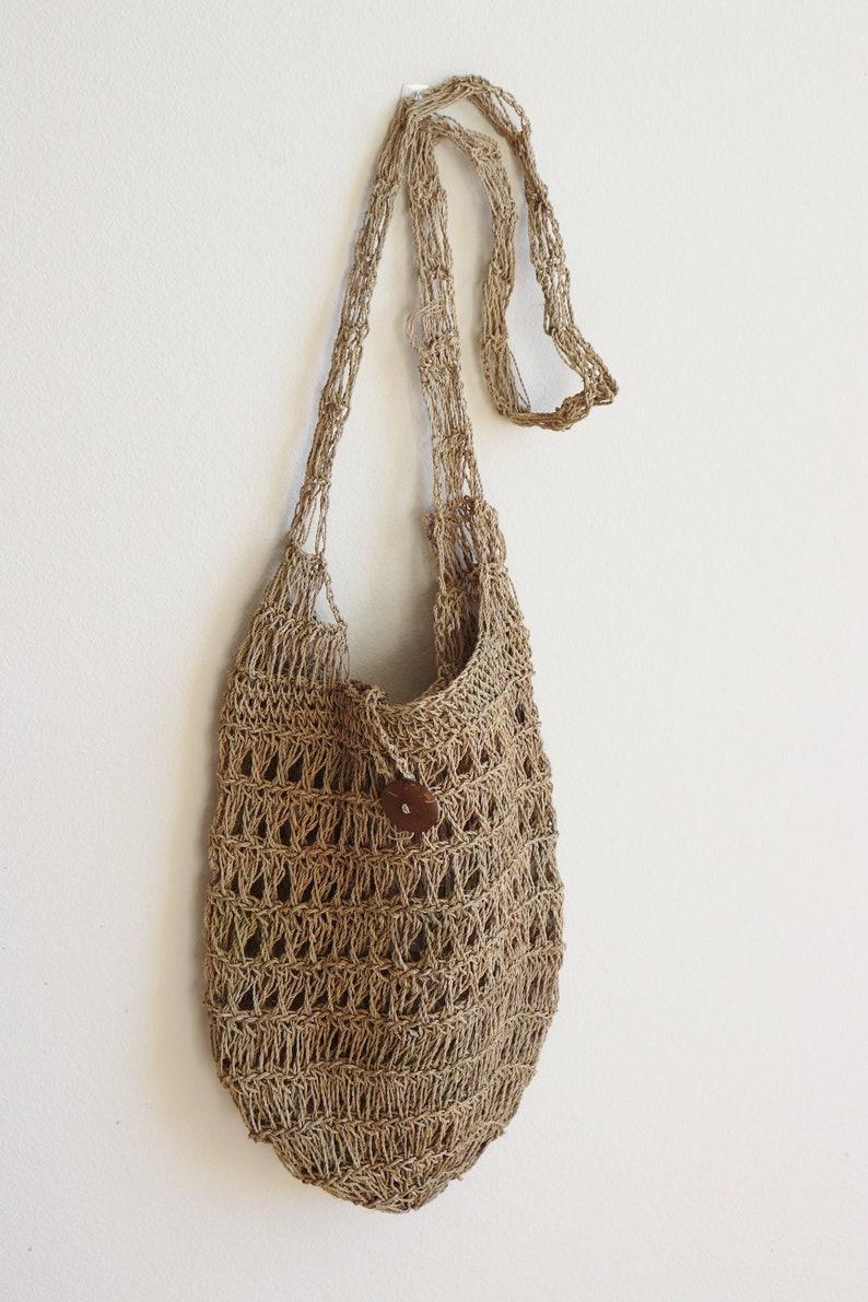 c3e4859a61 Natural Fiber Bucket Bag   Straw Bucket Bag   Wicker Boho Bag