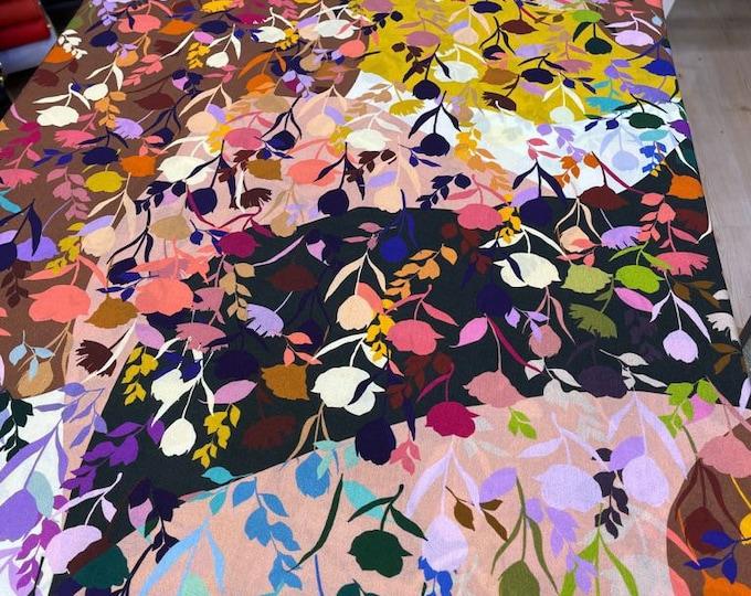 DIGITAL PRINTED Cotton Viscose Fabric Curtain Upholstery Cushion 150 cm wide  Baumwollstoff - Viskosestoff Viscose Fabric