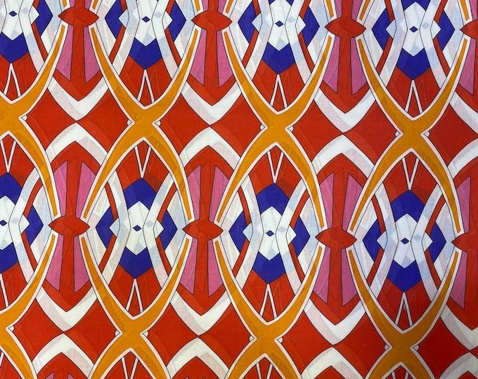 Voile Lawn FABRIC 100% Cotton Sheer Gauze Material. DIGITAL PRINTED Fabric Cushion 150 cm wide  Baumwollstoff  Fabric