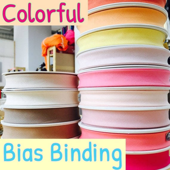 Pants Black Skirts 1m Jersey bias Binding 40 // 20mm for Dresses caps etc of Course More Available Different Colors Available