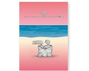 Anniversary Valentines Card – Love is in the Air