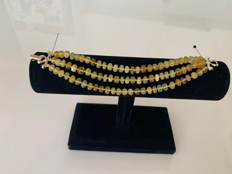 Summer light opal bracelet