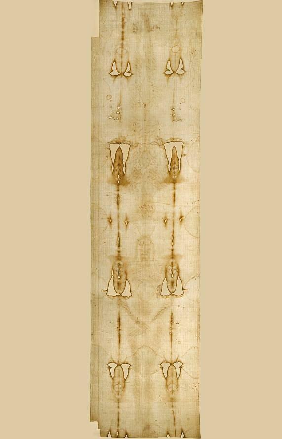 Linceul de Turin Jésus Full tissu imprimé imprimé imprimé Vintage Antique relique nouvelle Art Pâques ead9d9