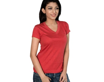 Organic Bamboo Cotton Yoga Tee