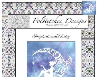 Inspirational Fairy -  Cross Stitch Chart
