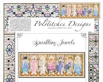 Sparkling Jewels -  Cross Stitch Chart