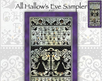 JE277 All Hallow's Eve Chart by Joan Elliott