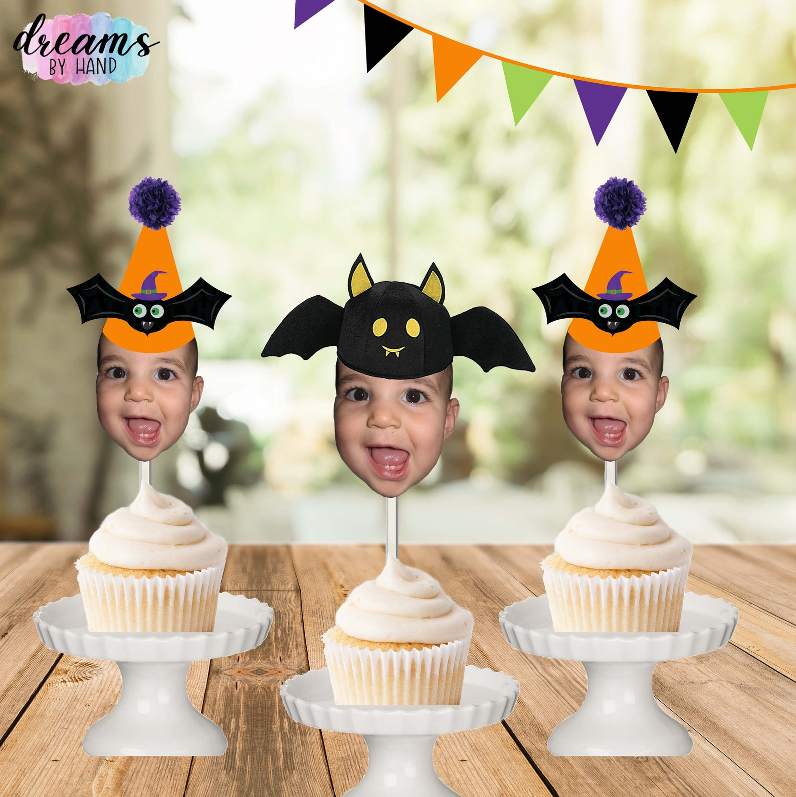 Bat Cupcake Picks Page Two