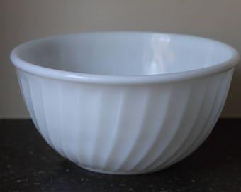 Fire-King Swirl Bowl