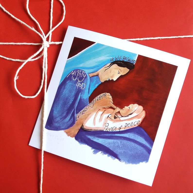 Religious Christmas Cards Uk.Pack Of Christmas Cards Isaiah 9 6 Christian Christmas Cards Christmas Cards Christian Gifts Uk Religious Christmas Card