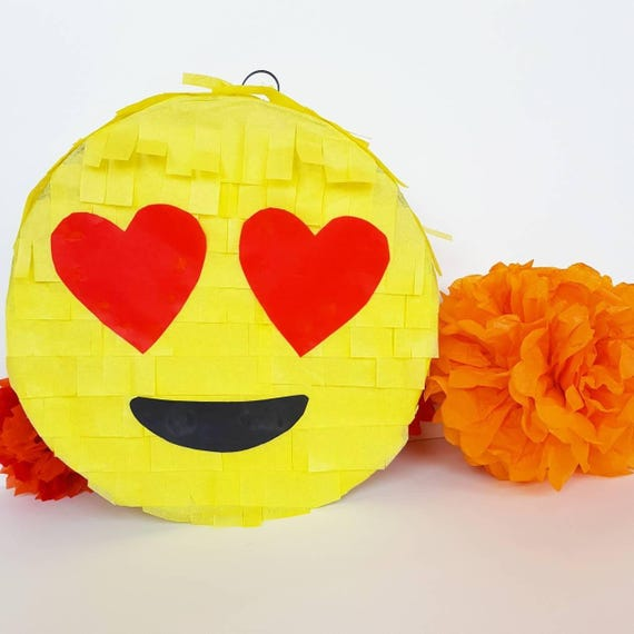 Emoji Pinata Ready To Shipbirthday Party Decor