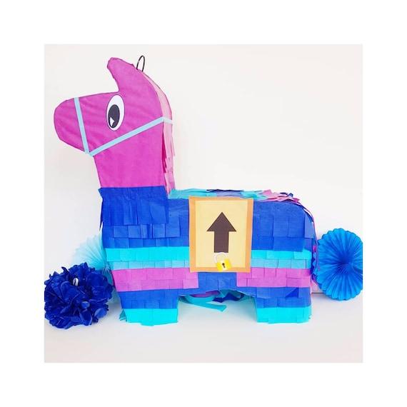 Fortnite Llama Pinata Fortnite Pinata Boys Birthday Etsy