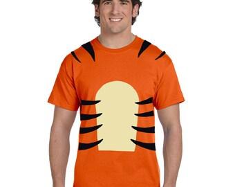 ee96ba426a15 Tigger Shirt - Tigger Costume - Disney Halloween Shirt - Winnie The Pooh -  Disney Gifts - Disney Men s Shirt