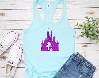 78e90926505d4 Ariel - The Little Mermaid - DIsney mermaid - Disney Castle Shirt - Disney  Gifts - Disney Tank Top - Princess Ariel - Disney Princess