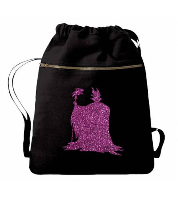 Maleficent Disney Villain Maleficent Bag Sleeping Beauty Disney Bag Disney Tote Disney Backpack Personalized Bag