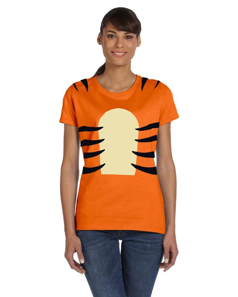 fa6ed4444c7a Tigger Shirt Tigger Costume Disney Halloween Shirt