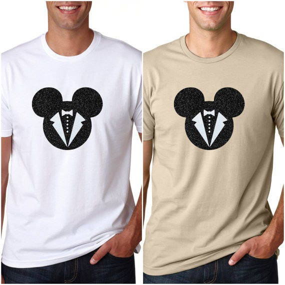Mickey Wedding LGBT Wedding Shirt LGBT Disney Disney Gay